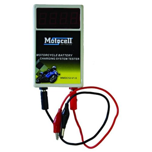 MOTOCELL CHARGING SYSTEM VOLTAGE TESTER MOTORCYCLE BATTERY AUSTRALIA