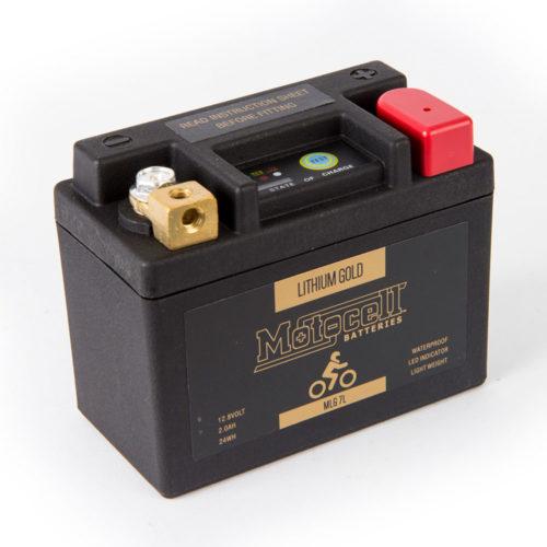 Motocell MLG7L Lithium Motorcycle Battery AUSTRALIA
