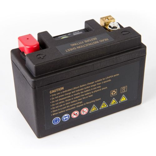 Motocell MLG9L Lithium Motorcycle Battery AUSTRALIA - back view