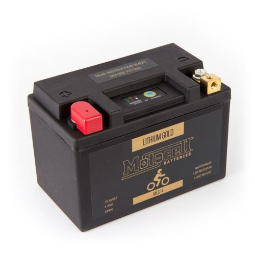 Motocell MLG14 Lithium Motorcycle Battery AUSTRALIA - front view