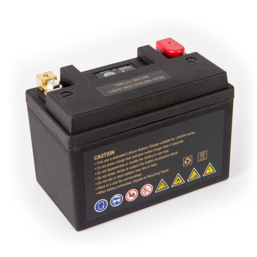 Motocell MLG14 Lithium Motorcycle Battery AUSTRALIA - back view