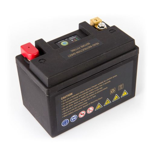 Motocell MLG18L Lithium Motorcycle Battery AUSTRALIA - back view