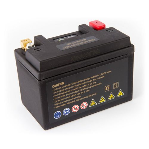 Motocell MLG21 Lithium Motorcycle Battery AUSTRALIA - back view