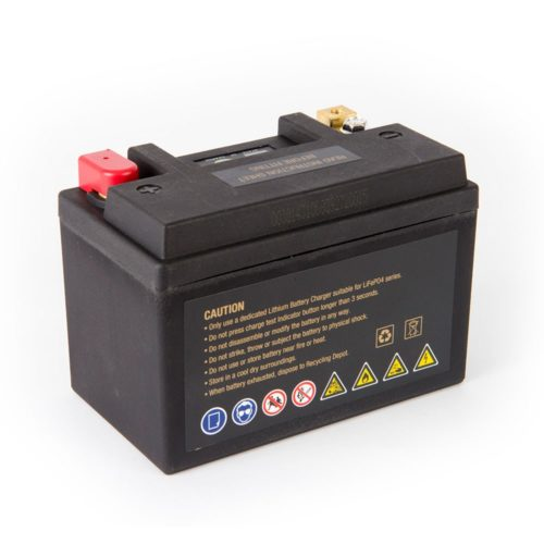 Motocell MLG21L Lithium Motorcycle Battery AUSTRALIA - back view