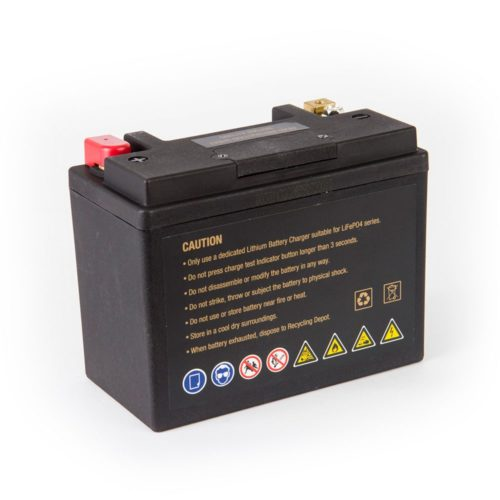 Motocell MLG30L Lithium Motorcycle Battery AUSTRALIA - back view