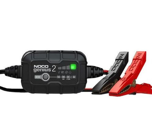 Motocell NOCO Battery Charger 2Amp 6v12vLithium Motorcycle Battery charger Australia