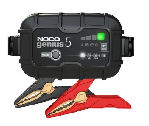 Motocell NOCO Battery Charger 5Amp 612vLithRep Motorcycle Battery Charger Australia