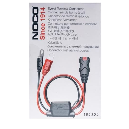 Motocell NOCO X-Connect Eyelet Lead Set GC002 Motorcycle Battery Charger Australia